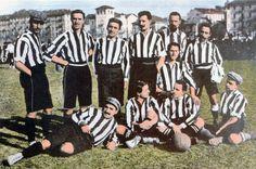Juventus team group in 1905-06.