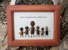 Pebble Art Rock Art Teacher Education Preschool