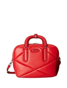 Marc by Marc Jacobs Turn Around Quilted Leather Satchel