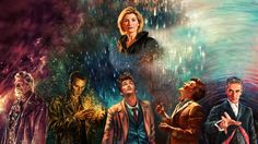 Doctor Who TV show, poster, colorful wallpaper Doctor Who Meme, Doctor Who 10, 13th Doctor, Doctor Who Quotes, Eleventh Doctor, The New Doctor, Doctor Who Wallpaper, Fantastic Art, Superwholock