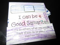 Good Samaritan Craft – 1 | Ministry 2 Kids