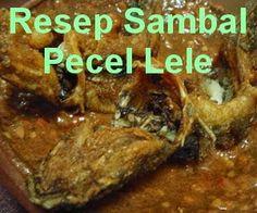 Sambal Sauce, Sambal Recipe, My Favorite Food, Favorite Recipes, Catfish Recipes, Shrimp Paste, Indonesian Food, Indonesian Recipes, Rice Vinegar