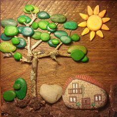 """32 Likes, 9 Comments - Rebecca Abraira Arte Emociones (@rebeccaabraira) on Instagram: """"Con las piedras del camino"""""""