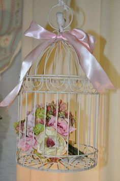 """Photo 21 of 51: birds , nests and flowers / Birthday """"Lauren's French Garden""""   Catch My Party"""