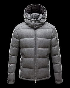 Moncler Montgenevre Grey Detachable Hood Men Down Jacket [2900342] - £182.39 :