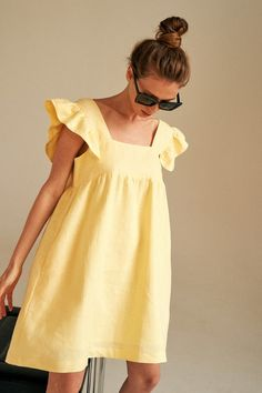 Japan Fashion, Ootd Fashion, Fashion 2020, Girl Fashion, Casual Dress Outfits, Outfits For Teens, Evening Dresses, Summer Dresses, Tent Dress