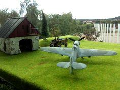 Hawker Hurricane Mk. II, russische Luftwaffe. 1/72 Revell