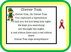 Classroom Freebies: A Leprechaun Story Souvenir! #StPatricksDay