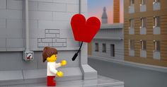 Bricksy: Street Art by Banksy in LEGO Form by Photographer Jeff Friesen. Jeff Friesen recreates the work of elusive UK Street Artist Banksy in LEGO form. Notable works from Banksy are reimagined including Girl with Balloon and more. Banksy Graffiti, Banksy Work, Bansky, Figurine Lego, Lego Girls, Lego Photography, Photography Series, Photography Ideas, Street Art