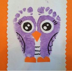 Footprint owl