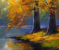 Картинки по запросу kindergarten fall landscape artwork