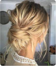 30 Incredible Hairstyles for Thin Hair Hair Casual wedding hair Wedding Hair And Makeup, Hair Makeup, Makeup Hairstyle, Eye Makeup, Chignon Hairstyle, Updo Diy, Prom Makeup, Wedding Beauty, Medium Hair Styles
