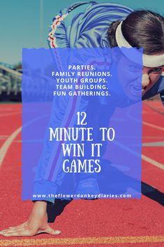 Minute to Win It games perfect for family reunions, classroom parties, kids' birthday parties, youth groups or any other fun gathering! Have fun racing the clock with these 60 second challenges! Fun Youth Group Games, Youth Group Events, Family Games, Youth Groups, Youth Activities, Therapy Activities, Party Activities, Indoor Activities, Sleepover Games
