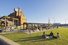 The Hart's Mill Projects in Port Adelaide by Mulloway Studio and Aspect Studios