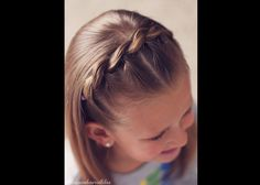 A Pull Through Braid looks complicated at first, but it is really such an easy braid to do! There are so many ways to do a this braid, so here is a fun take ...