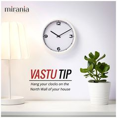 Vastu Tip - Hang your clocks on the North Wall of your house Feng Shui And Vastu, Room Feng Shui, Feng Shui Tips, Indian House Plans, New House Plans, Indian Home Design, Indian Home Decor, Home Building Design, House Design
