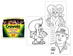 Coloring Pages Gift: Perfect for the friend who likes having busy hands during TV times but isn't about to learn how to knit, this gift just...