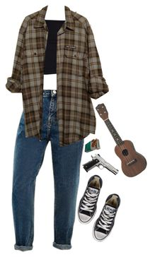 """""""Take Us Back"""" by eyeliieds ❤ liked on Polyvore featuring Converse"""