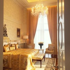 Signature Suite#neoclassical #bedroomdecor #italianarchitecture #realpalacehotel