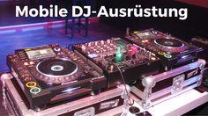 Mobile DJ-Ausrüstung aus #CDJ200 #DJM800 #Flightcase #HDJ25