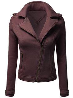 Thick Zip-Up Jacket