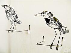 Wire Birds by plaidleaf, via Flickr