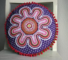 the crochet flower  pattern from ATERGcrochet.