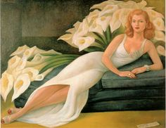 it's because of Diego Rivera's art that I had calla lillies as my main wedding flower