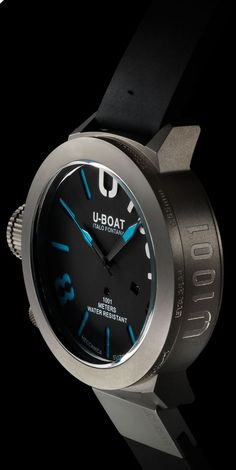 The definitive monster watch. U-Boat Classico 55 Limited Edition Watch. Amazing Watches, Beautiful Watches, Cool Watches, Watches For Men, Men's Watches, Dream Watches, Luxury Watches, Style Masculin, Limited Edition Watches