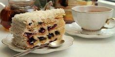 ТОРТ «ВИШНЯ В СНЕГУ»- ВСЕМ ТОРТАМ ТОРТ! — это ШЕДЕВР десертов! Я влюблена в этот торт! Он шикарен и невероятно восхитителен!