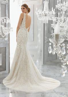 Mysteria Wedding Dress - Morilee Fit And Flare Wedding Dress fb5b016ecfb1