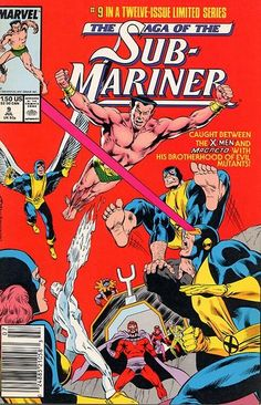Saga of the Sub-Mariner # 9 by Rich Buckler & Bob McLeod