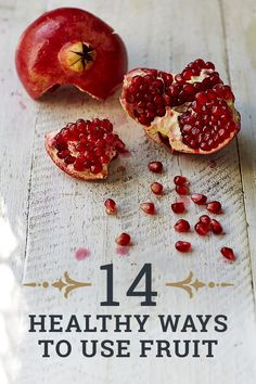 14 healthy recipes to using fruit - Jamie Oliver
