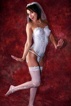 Bridal Corset Body Painting