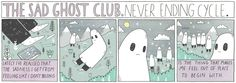 thesadghostclub:  Here's the full Sad Ghost comic from The Guardian/ The Guide.   shop//facebook//instagram
