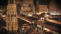 The Nuremberg Christmas Market is one of the most famous worldwide. Let yourself be enchanted by its' special atmosphere, the scent of mulled wine and Nuremberg sausages and the beautifully decorated stalls.