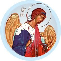 Archangel Michael - Self-Adhesive Icons from the Workshop of St. Elisabeth Convent - #CatalogOfGoodDeeds #Self-adhesive #Icons #Orthodox #Curch #Delivery #Eastern #Orthodoxy #Faith #Archangel #Michael