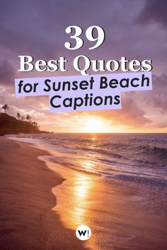 Beach sunset quotes, you say? Yep, I've got that in stock. No less than 39 beautiful quotes, perfect for inspiration, and perfect to be used as caption for beach sunset pics. Let's jump straight into these sunset and beach quotes! beach quotes instagram caption | sunset beach quotes instagram | sunset beach quotes instagram | sunset beach quotes life | beautiful sunset beach quotes Beach Sunset Quotes, Sunset Pics, Sunset Pictures, Sunset Beach, Instagram Captions Sunset, Sunset Captions, Beach Captions, Sea Quotes, Inspirational Quotes About Love