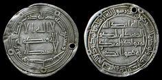 Spread of Islam- Islamic coins in Arabic from the Umayyad and Abbasid Dynasties