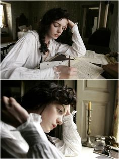 Anne Hathaway, Jane Austen - Becoming Jane directed by Julian Jarrold Jane Austen, Anne Hathaway, Story Inspiration, Character Inspiration, Miyazaki, Becoming Jane, Film Serie, Pride And Prejudice, Period Dramas