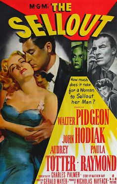 Film Noir Poster - Sellout,