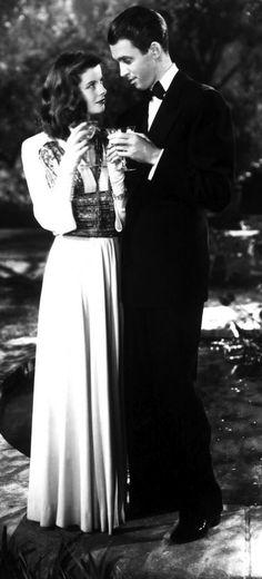 Katharine Hepburn and James Stewart - The Philadelphia Story (George Cukor,1940)