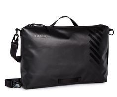 A convertible briefcase with sleek lines and slick features.
