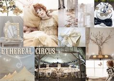 Ethereal Circus Inspiration Board