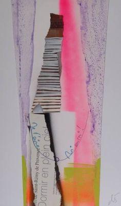 "Saatchi Art Artist Christelle GERARDY; Collage, ""Household"" #art"