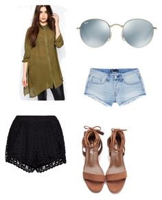 """""""Untitled #96"""" by jazzy-jazzz on Polyvore featuring Missguided, New Look, Ray-Ban and 3x1"""
