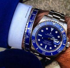 Rolex watch ~ I want that bracelet!
