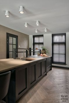 Exclusive kitchen in Wageningen - culuat - high end kitchens - Kitchen On A Budget, New Kitchen, Kitchen Decor, Eclectic Kitchen, Kitchen Design Open, Interior Design Kitchen, Kitchen Designs, Interior Decorating, Decorating Ideas