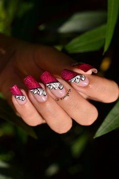 NAIL ART DRAPE TUTORIAL #nails