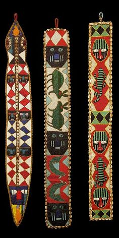 Yoruba Beaded Sashes 2 #Africa #African #Yoruba
